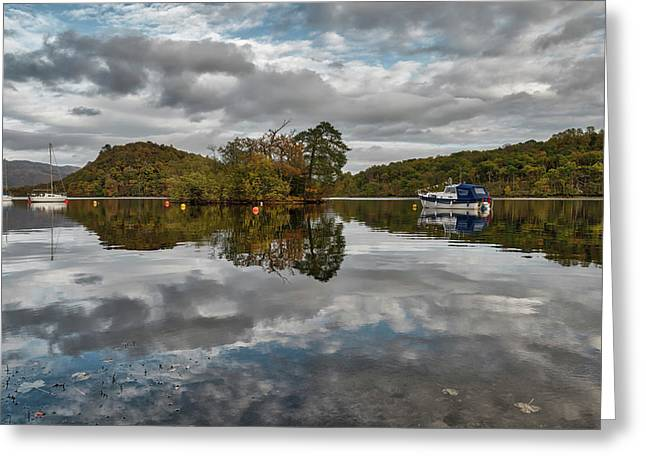 Loch Lomond At Aldochlay Greeting Card by Jeremy Lavender Photography