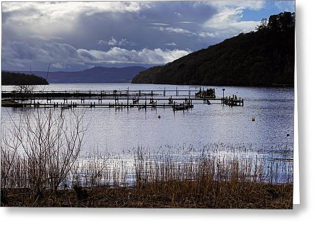 Greeting Card featuring the photograph Loch Lomond by Jeremy Lavender Photography