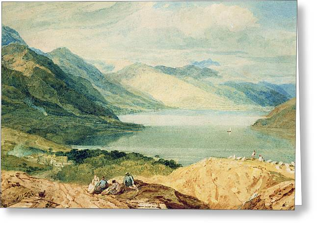 Loch Lomond Greeting Card by Joseph Mallord William Turner