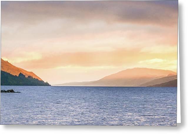 Loch Ness At Dawn Greeting Card