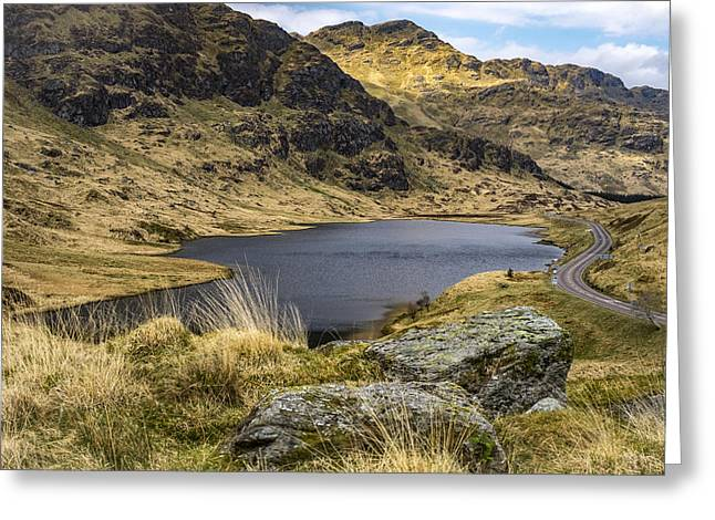 Loch Restil From Rest And Be Thankful Greeting Card