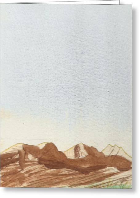 Loch Torridon Greeting Card by Jim Green