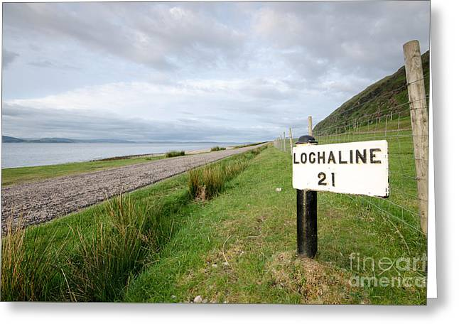 Lochaline This Way Greeting Card by Nichola Denny