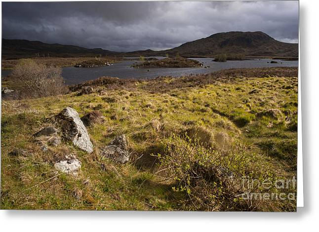 Lochan Nah Achlaise Greeting Card by Philippe Boite