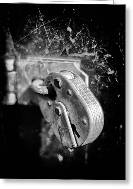 Greeting Card featuring the photograph Locked by Jeremy Lavender Photography