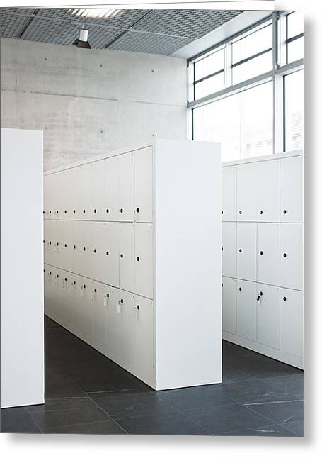 Lockers Greeting Card