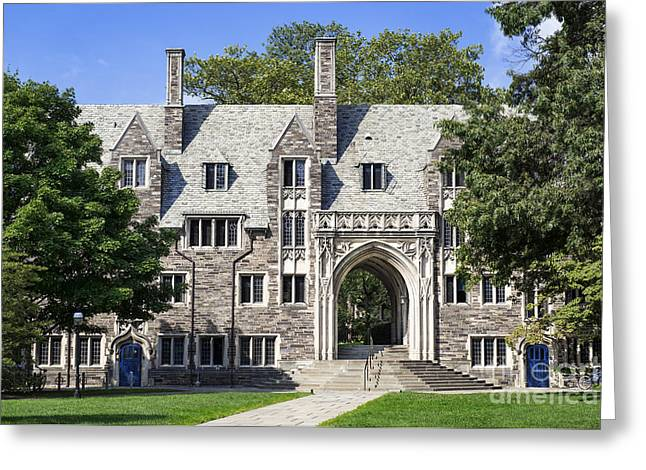 Lockhart Hall Princeton  Greeting Card by John Greim