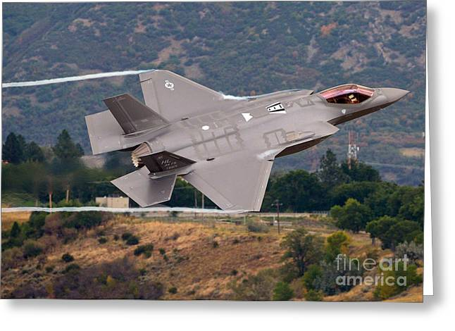 Lockheed Martin F-35 Lightning II, 2015 Greeting Card