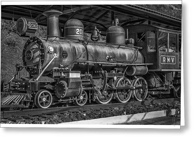 Locomotiva-conservatoria-rj Greeting Card