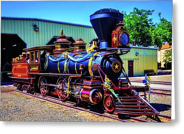 Locomotive Glenbrook Greeting Card