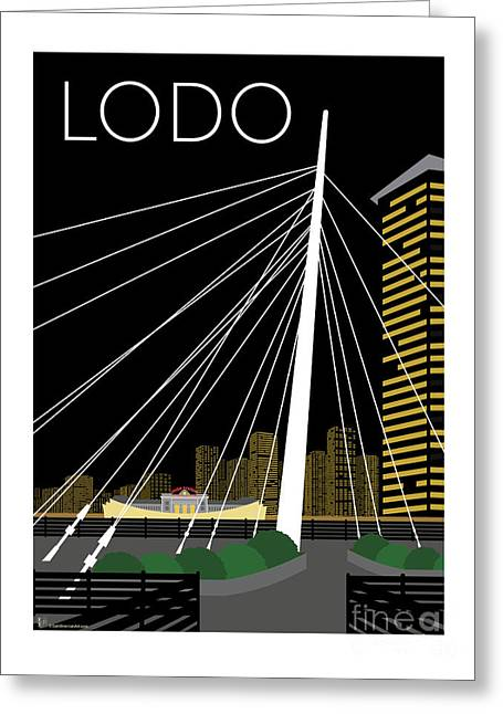 Lodo By Night Greeting Card