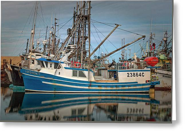 Greeting Card featuring the photograph Lofoten 2 by Randy Hall