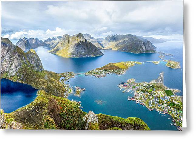 Lofoten Greeting Card