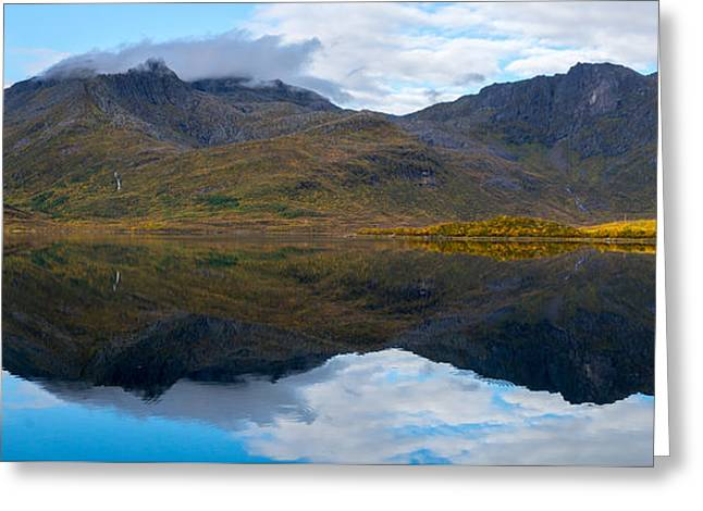 Lofoten Lake Greeting Card