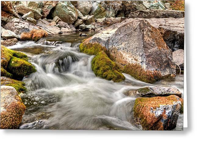Logan Creek, Montana 2 Greeting Card