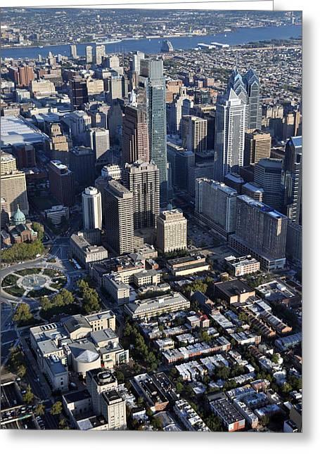 Logan Square Philadelphia Greeting Card