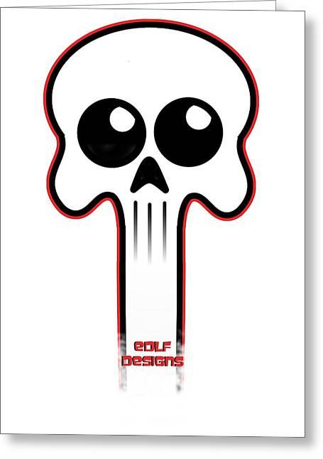 Logo  Greeting Card by Eric De La Fuente
