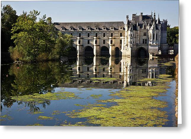 Loire Chateaux Chenonceau Greeting Card