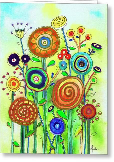 Lollipop Garden Greeting Card