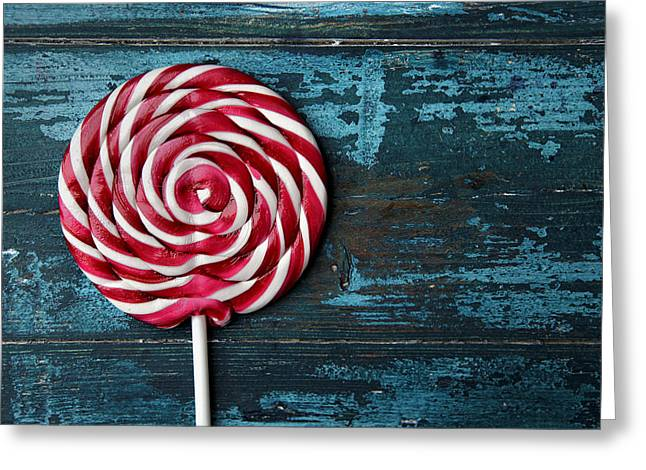Lollipop Greeting Card by Nailia Schwarz