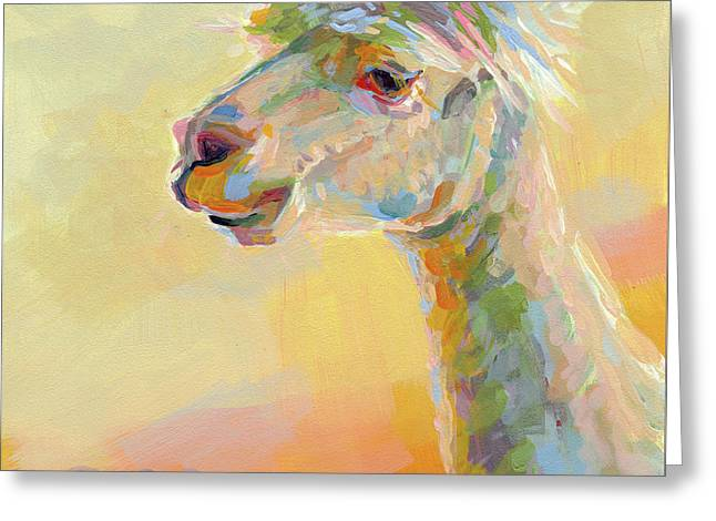 Lolly Llama Greeting Card