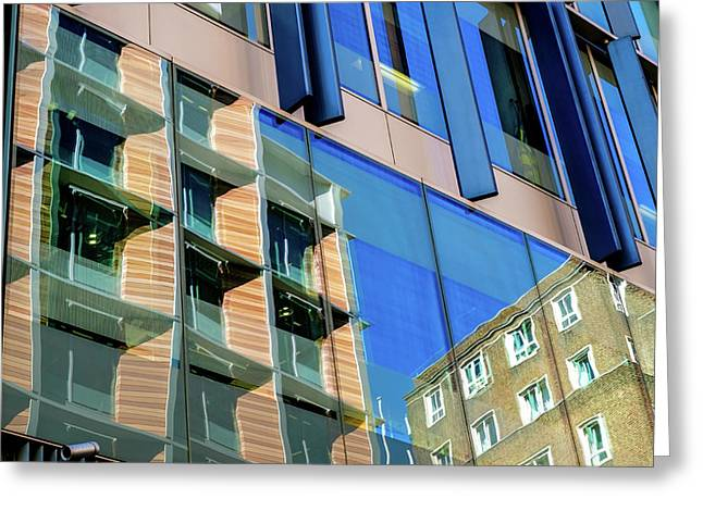 London Bankside Architecture 3 Greeting Card