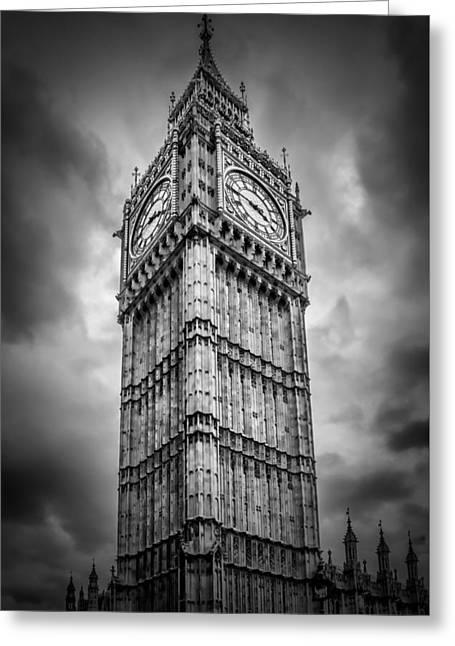 London Big Ben Greeting Card by Melanie Viola