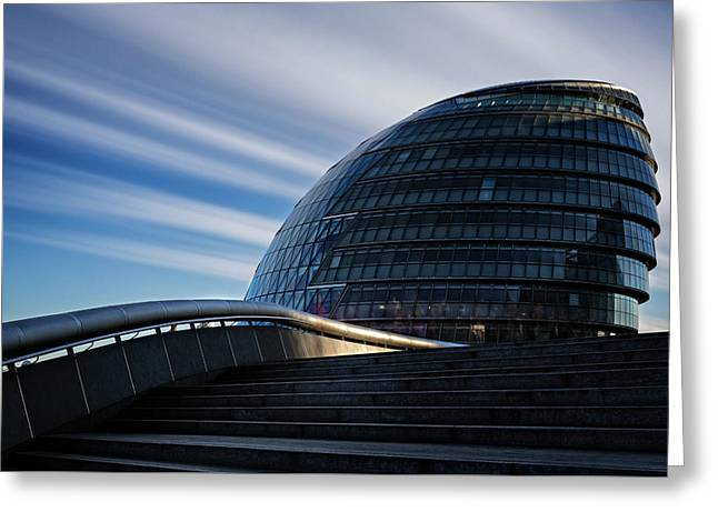London City Hall Greeting Card