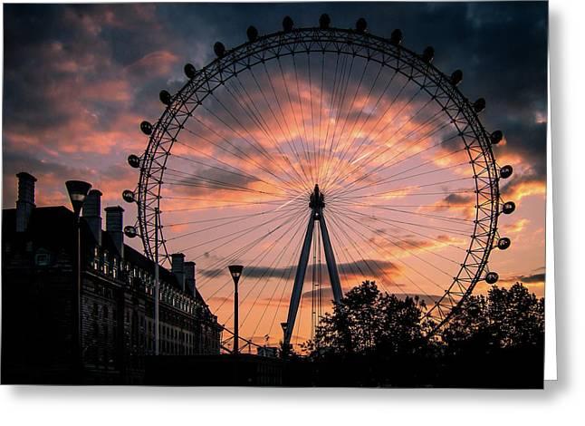 London Eye #1 Greeting Card