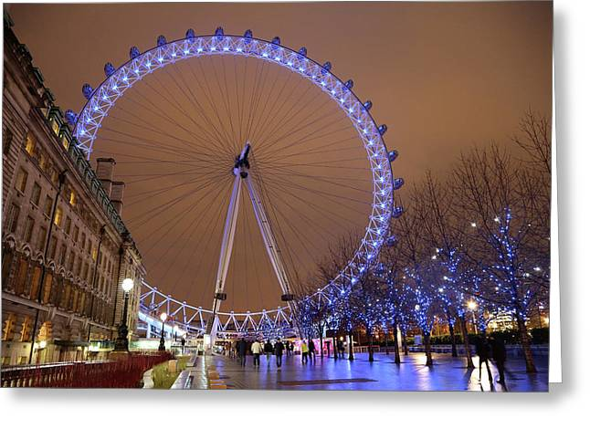 Greeting Card featuring the photograph Big Wheel by David Chandler