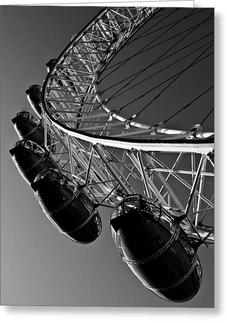 London Eye Greeting Card by David Pyatt