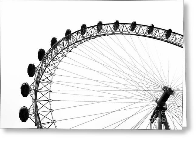 London Eye Greeting Card
