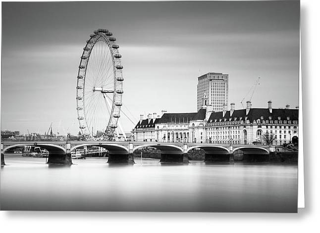 London Eye Greeting Card by Ivo Kerssemakers