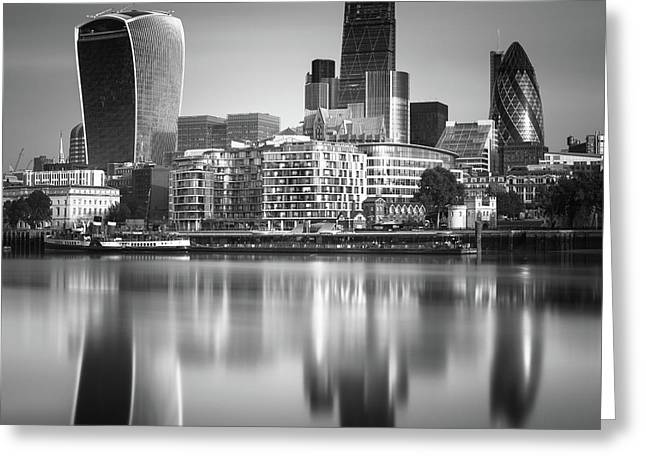 London Financial District Greeting Card by Ivo Kerssemakers