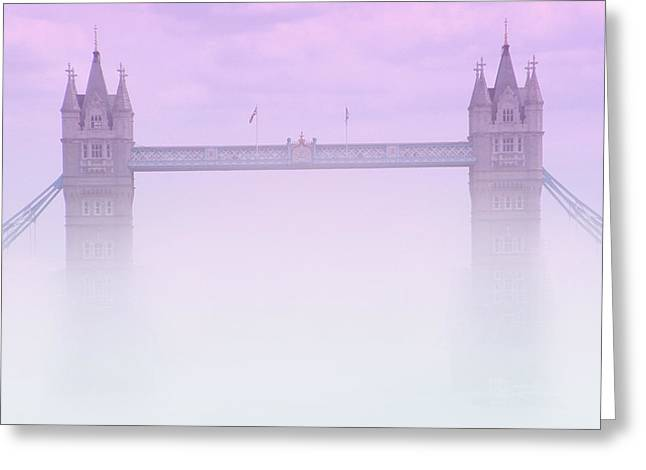 London Fog Greeting Card