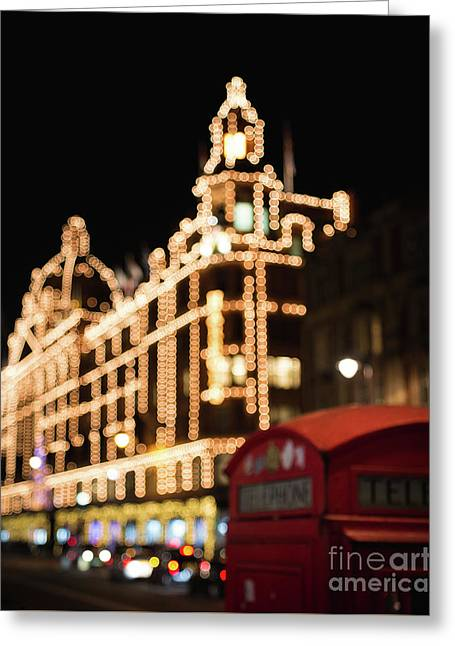 London Lights Greeting Card