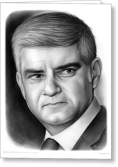 London Mayor Greeting Card