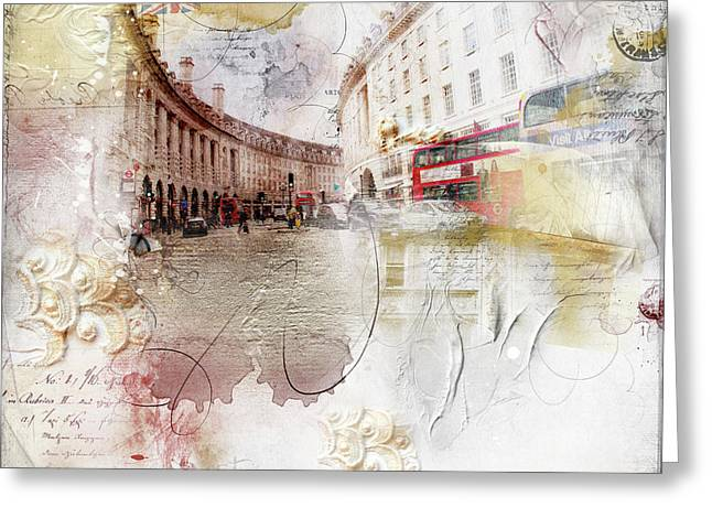 London Regency Greeting Card by Nicky Jameson
