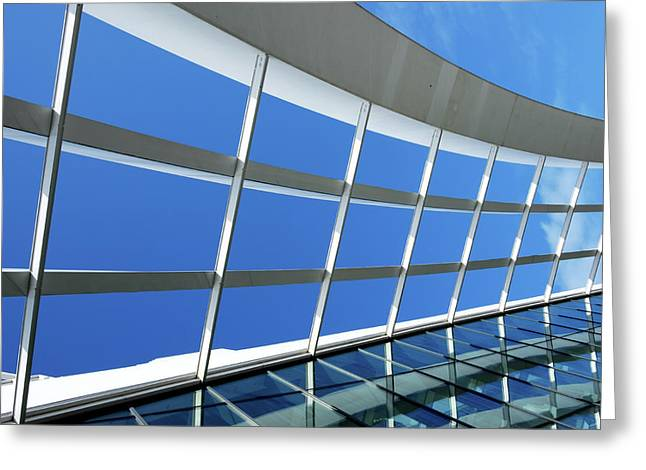London Sky Garden Architecture 3 Greeting Card
