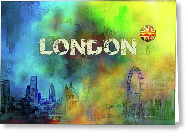 London - Skyline Greeting Card