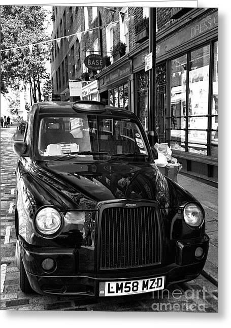 London Taxi Greeting Card