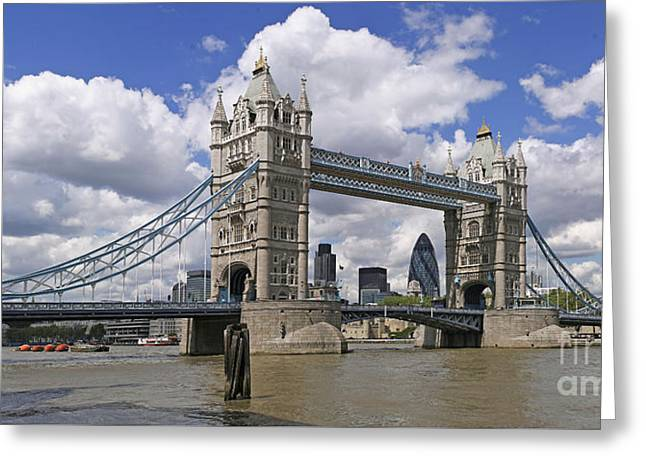 London Towerbridge Greeting Card