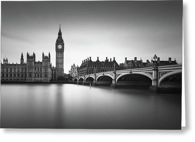 London, Westminster Bridge Greeting Card