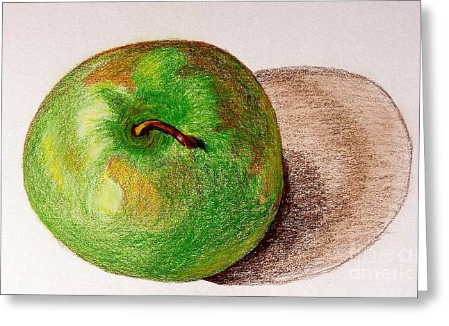 Lone Apple Greeting Card