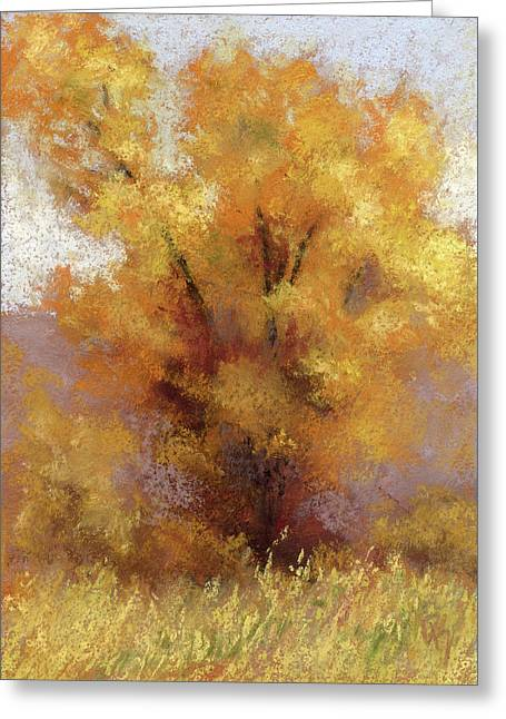 Lone Cottonwood Greeting Card