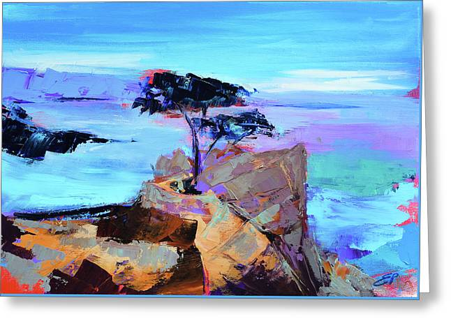Lone Cypress - California Greeting Card