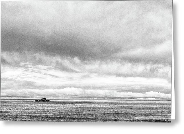 Greeting Card featuring the photograph Lone Island In The Pacific by Jingjits Photography