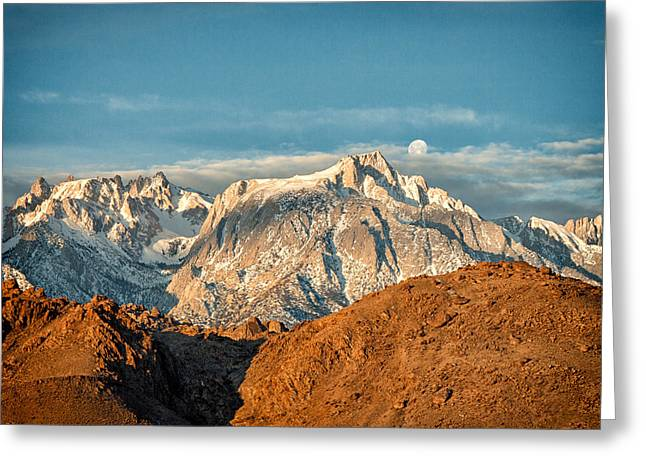 Owen County Greeting Cards - Lone Pine Peak Greeting Card by Troy Montemayor