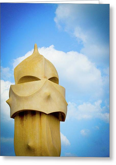 Lone Soldier Greeting Card by Patrick Rabbat