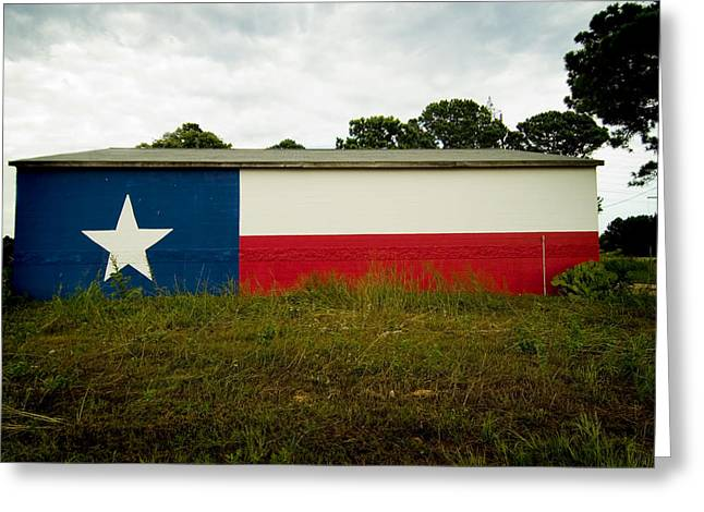 Lone Star Mural Greeting Card by John Gusky
